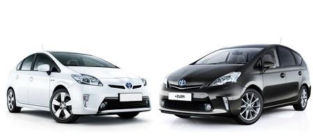 TOYOTA PRIUS / PRIUS+ Worldcars