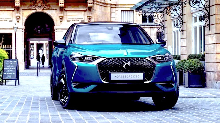 DS 3 Crossback Worldcars